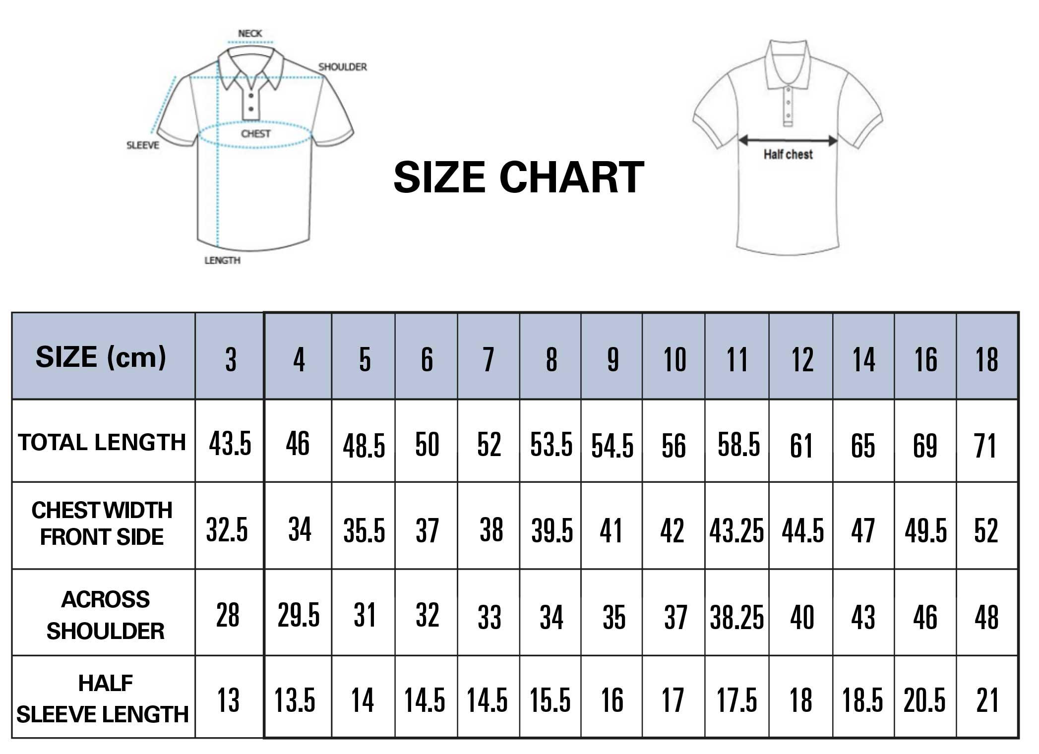 PE Shirts